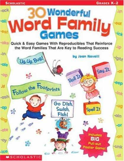 Books About Success - 30 Wonderful Word Family Games: Quick & Easy Games With Reproducibles That Reinf