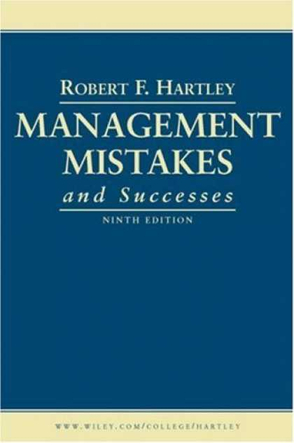 Books About Success - Management Mistakes and Successes
