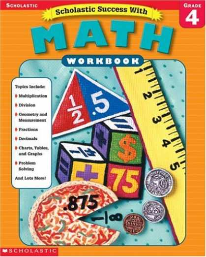 Books About Success - Scholastic Success With Math Workbook Grade 4 (Grades 4)