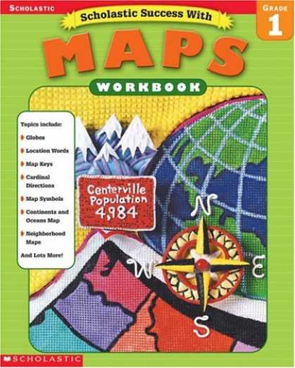 Books About Success - Scholastic Success With Maps Workbook Grade 1 (Grades 1)