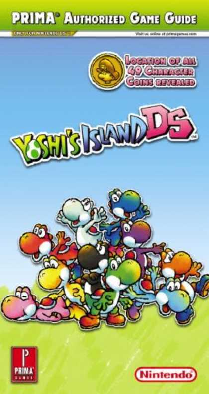 Books About Video Games - Yoshi's Island DS (Prima Official Game Guide)