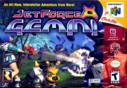 Books About Video Games - JET FORCE GEMINI (NINTENDO N64 VIDEO GAME CARTRIDGE) (JET FORCE GEMINI (NINTENDO
