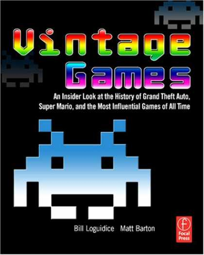 Books About Video Games - Vintage Games: An Insider Look at the History of Grand Theft Auto, Super Mario,