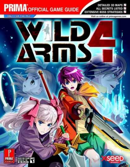 Books About Video Games - Wild Arms 4 (Prima Official Game Guide)