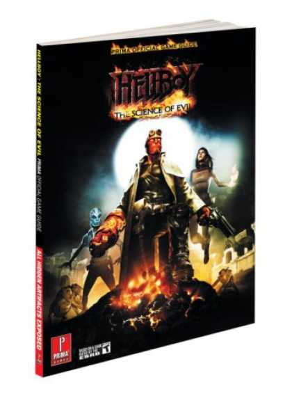Books About Video Games - Hellboy: The Science of Evil: Prima Official Game Guide (Prima Official Game Gui