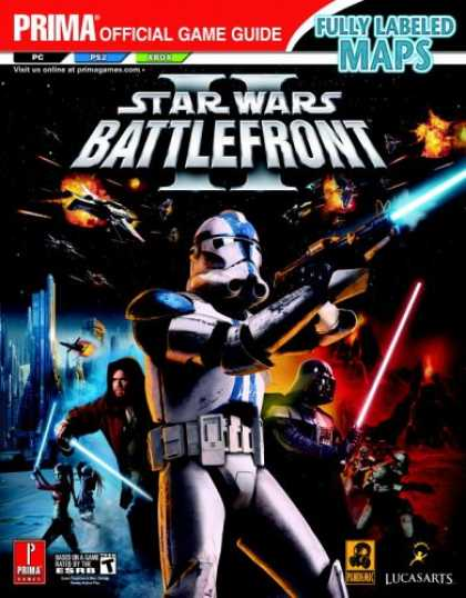 Books About Video Games - Star Wars Battlefront II (Prima Official Game Guide)