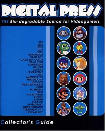 Books About Video Games - Digital Press Video Game Collector's Guide Advance