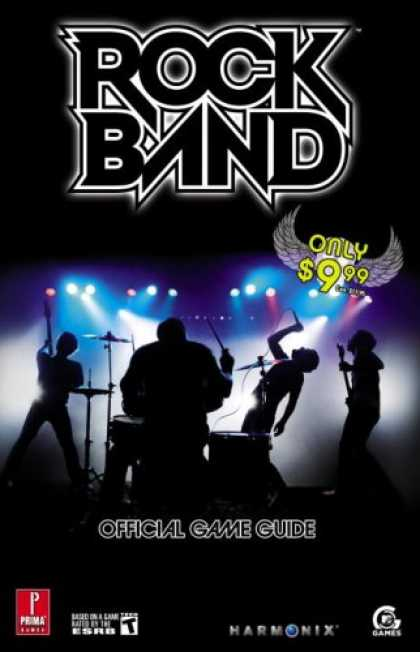 Books About Video Games - Rock Band: Prima Official Game Guide (Prima Official Game Guides)