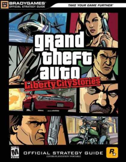 Books About Video Games - Grand Theft Auto Liberty City Stories - Official Strategy Guide for PlayStation