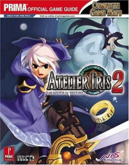 Books About Video Games - Atelier Iris 2: The Azoth of Destiny (Prima Official Game Guide)