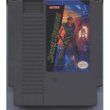Books About Video Games - SNAKE'S REVENGE VIDEO GAME (NINTENDO NES 8-BIT VIDEO GAME CARTRIDGE VERSION) (SN
