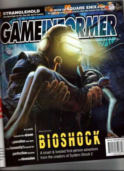 Books About Video Games - Game Informer Magazine-March 2006 Bioshock cover (Volume XVI Number 3 Issue 155)