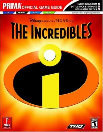 Books About Video Games - The Incredibles (Prima Official Game Guide)