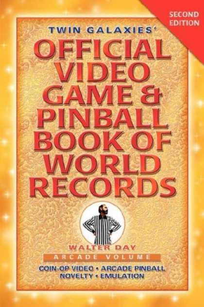 Books About Video Games - Twin Galaxies' Official Video Game & Pinball Book Of World Records; Arcade Volum