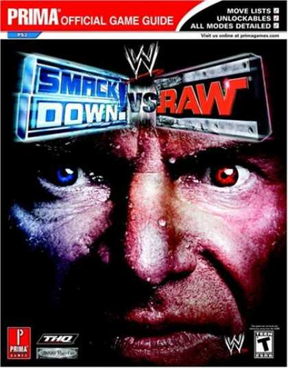 Books About Video Games - WWE Smackdown! vs RAW (Prima Official Game Guide)