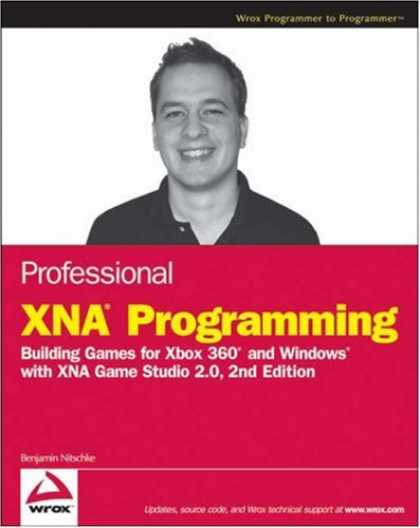 Books About Video Games - Professional XNA Programming: Building Games for Xbox 360 and Windows with XNA G