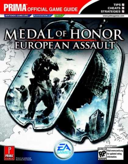 Books About Video Games - Medal of Honor: European Assault (Prima Official Game Guide)
