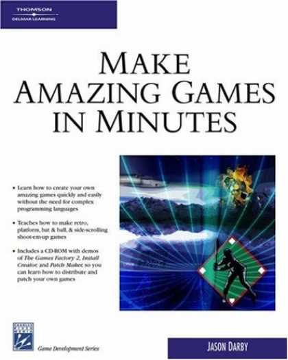 Books About Video Games - Make Amazing Games in Minutes (Game Development Series)