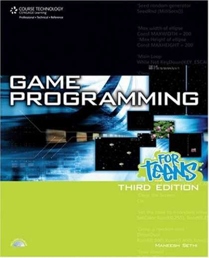 Books About Video Games - Game Programming for Teens