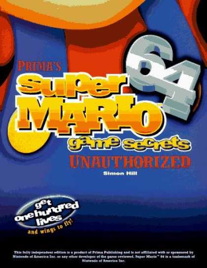 Books About Video Games - Super Mario 64 Game Secrets: Unauthorized (Secrets of the Games Series.)