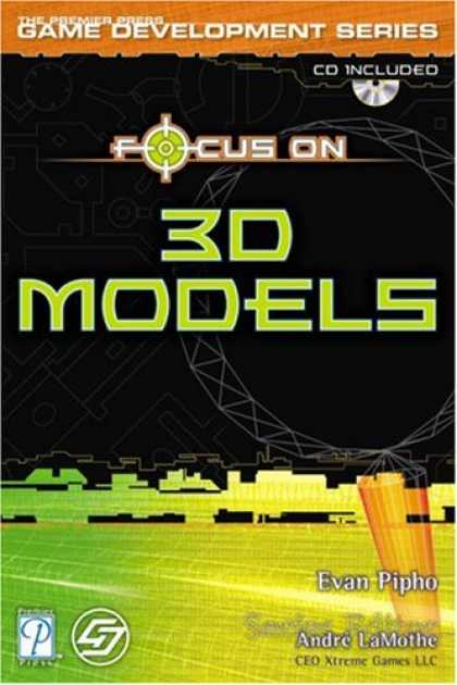 Books About Video Games - Focus On 3D Models (Game Development)