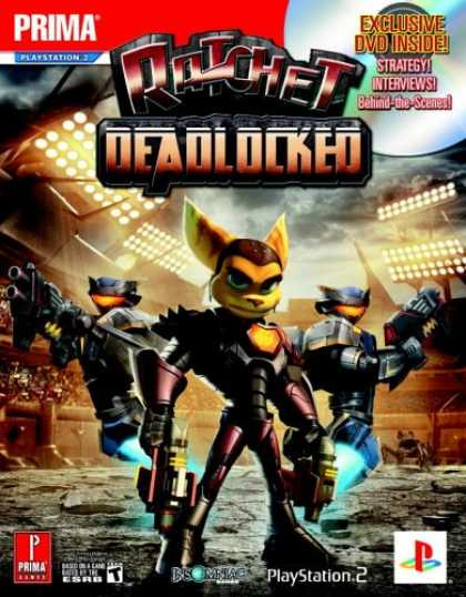 Books About Video Games - Ratchet: Deadlocked (with DVD) (Prima Official Game Guide)