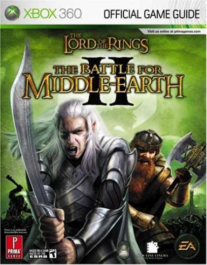 Books About Video Games - The Lord of the Rings: The Battle for Middle-earth II (Xbox 360) (Prima Official