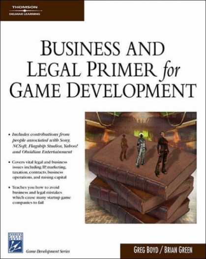 Books About Video Games - Business & Legal Primer for Game Development