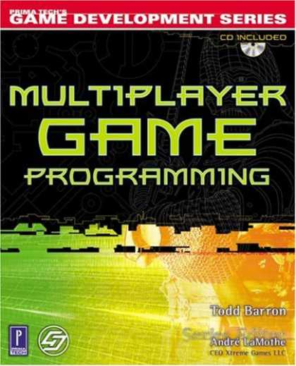 Books About Video Games - Multiplayer Game Programming w/CD (Prima Tech's Game Development)