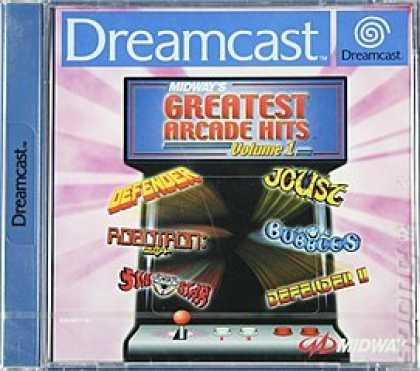 Books About Video Games - MIDWAY'S GREATEST ARCADE HITS VOLUME 1 (SEGA DREAMCAST CD-ROM VIDEO GAME VERSION
