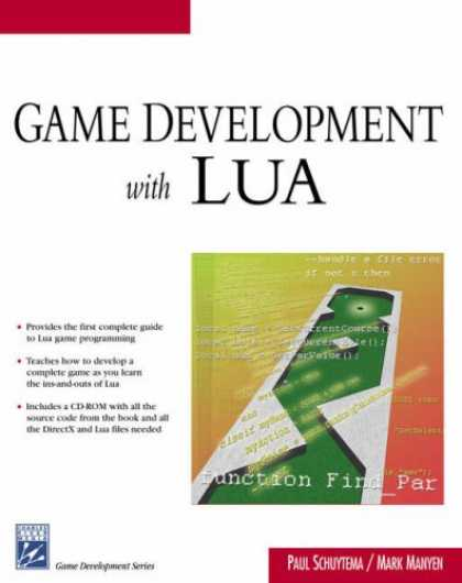 Books About Video Games - Game Development With LUA (Game Development Series)