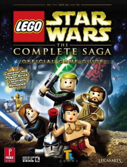 Books About Video Games - Lego Star Wars: The Complete Saga: Prima Official Game Guide (Prima Official Gam