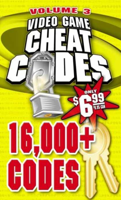 Books About Video Games - Video Game Cheat Codes Vol.3