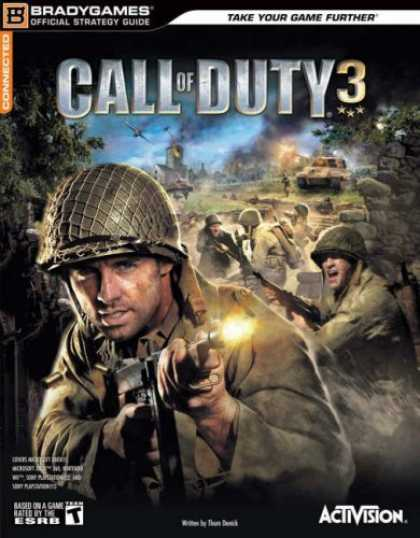 Books About Video Games - Call of Duty 3 Official Strategy Guide (Brady Games Official Strategy Guides)