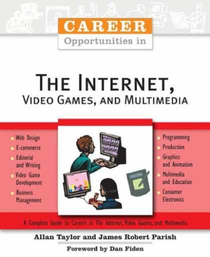 Books About Video Games - Career Opportunities in the Internet, Video Games, and Multimedia