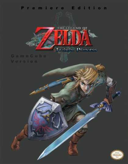 Books About Video Games - The Legend of Zelda - Twilight Princess (GameCube Version) (Prima Authorized Gam