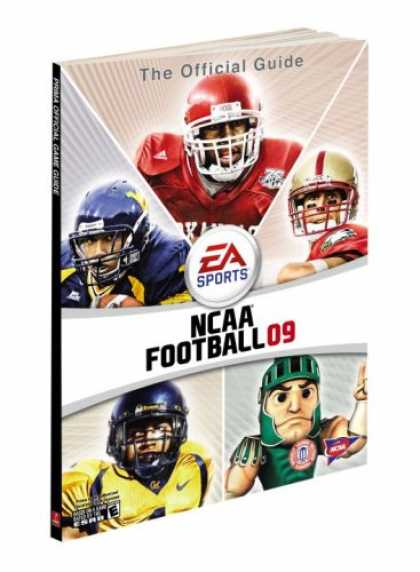 Books About Video Games - NCAA Football 09: Prima Official Game Guide