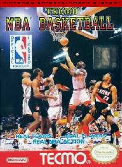 Books About Video Games - TECMO NBA BASKETBALL VIDEO GAME(NINTENDO NES 8-BIT VIDEO GAME VERSION) (TECMO NB