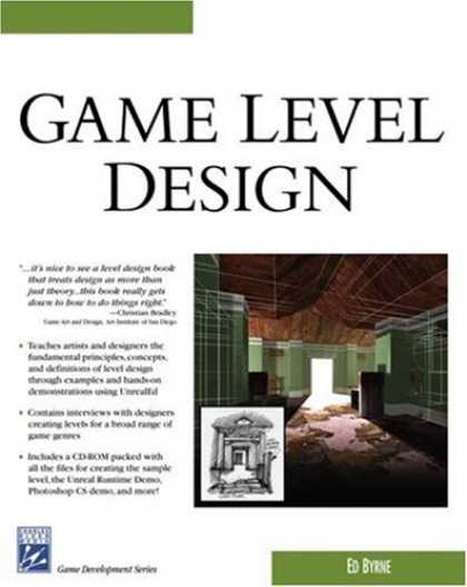 Books About Video Games - Game Level Design (Game Development Series)