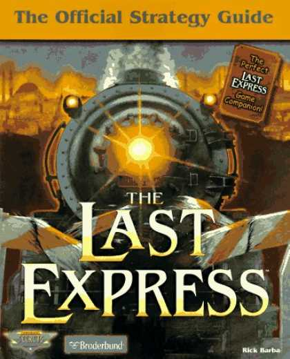 Books About Video Games - The Last Express: The Official Strategy Guide (Secrets of the Games Series.)