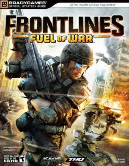 Books About Video Games - Frontlines: Fuel of War Official Strategy Guide (Brady Games) (Bradygames Offici