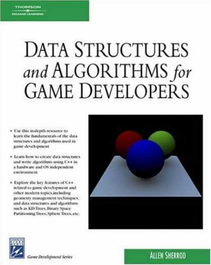 Books About Video Games - Data Structures and Algorithms for Game Developers (Game Development Series)