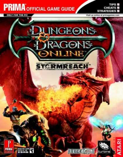 Books About Video Games - Dungeons & Dragons Online: Stormreach - Quest and Class Handbook (Prima Official