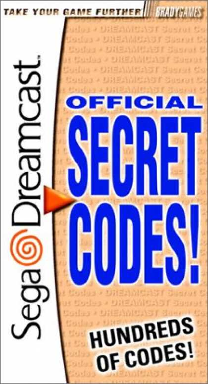Books About Video Games - Secret Codes for Sega Dreamcast (VIDEO GAME BOOKS)