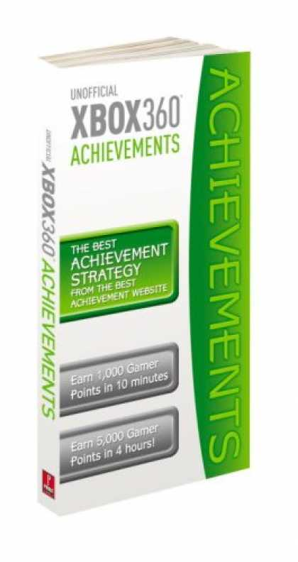 Books About Video Games - Xbox360 Achievement Guide: Prima Official Game Guide (Prima Official Game Guides