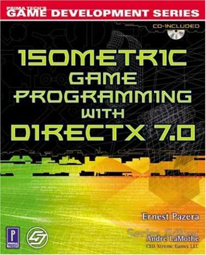 Books About Video Games - Isometric Game Programming with DirectX 7.0 w/CD (Premier Press Game Development