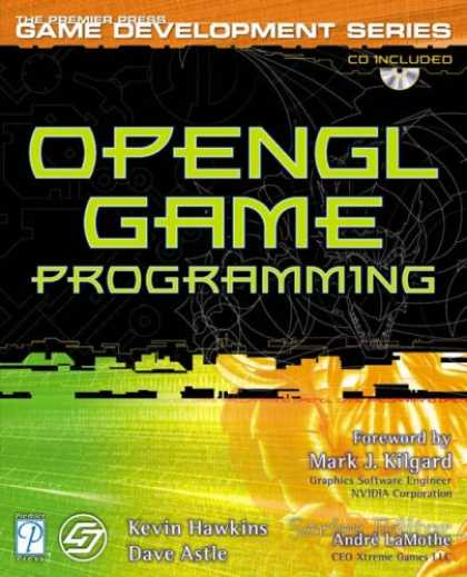 Books About Video Games - OpenGL Game Programming w/CD (Prima Tech's Game Development)