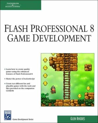 Books About Video Games - Macromedia Flash Professional 8 Game Development