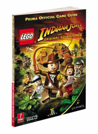 Books About Video Games - Lego Indiana Jones: The Original Adventures: Prima Official Game Guide (Prima Of