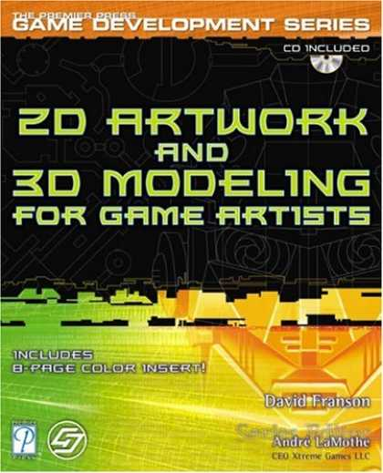 Books About Video Games - 2D Artwork and 3D Modeling for Game Artists (Premier Press Game Development (Sof